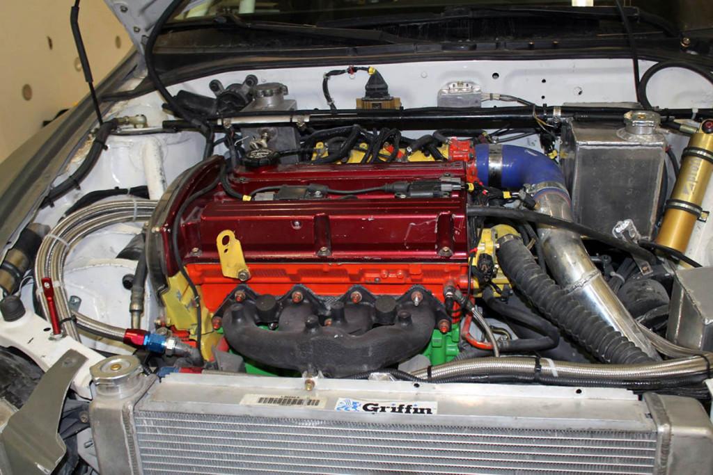Hyundai Accent With A Mitsubishi Evolution 8 Powertrain