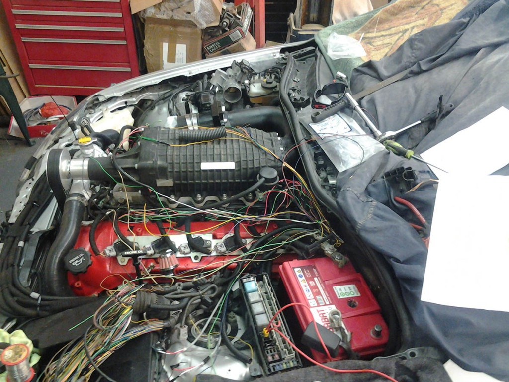 Lexus Is250 With A Supercharged Toyota V12 Engine Swap Depot Wiring Harness 2007 1gz Fe