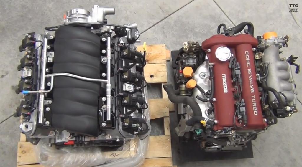 Miata I Engine Vs Ls V Size Comparison X on Trailblazer Coolant Temperature Sensor