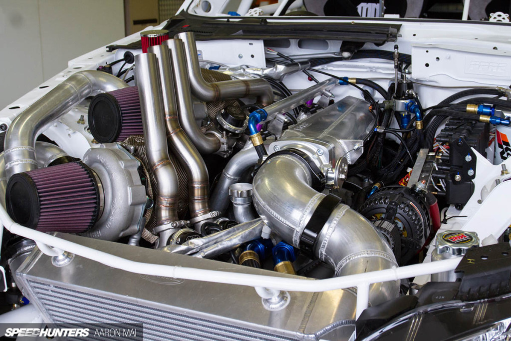 Project RADBUL Mazda MX-5 with twin-turbo 26B four-rotor