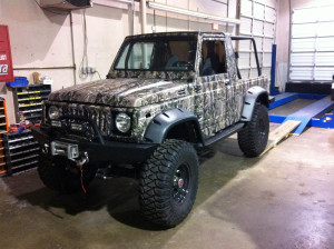 Suzuki Samurai With A VW Turbo Diesel