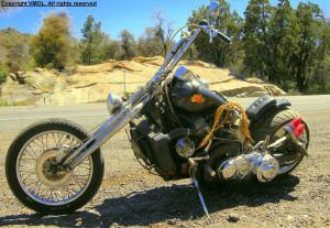 Tom Novak V8 Powered Motorcycles