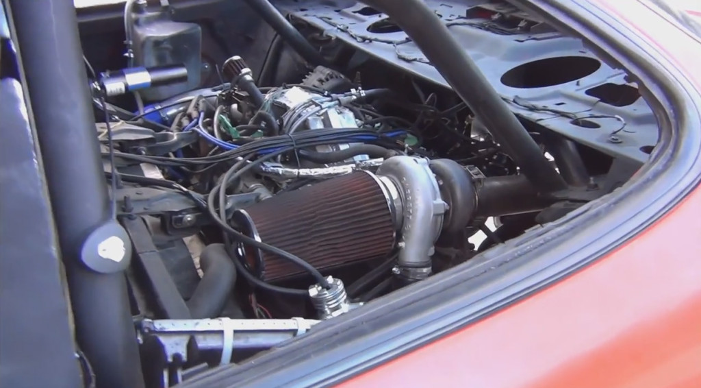 Twin-engine turbocharged 1200 Horsepower Pontiac Grand Prix