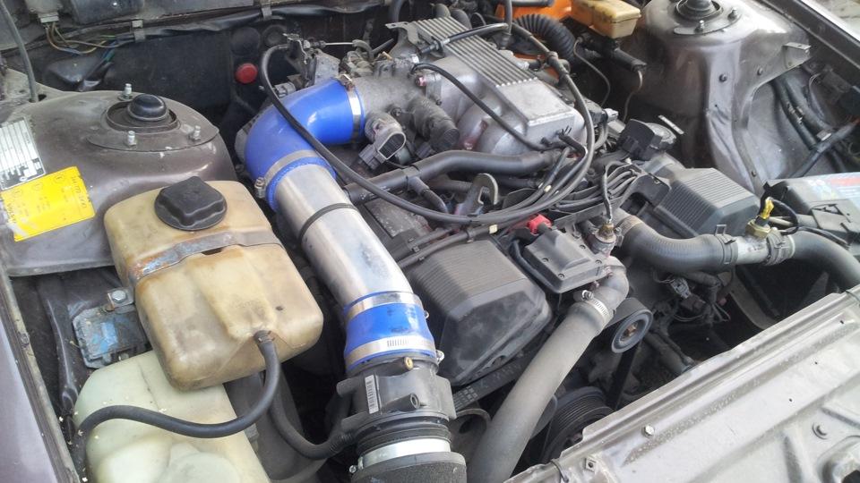 Volvo 244 With A Toyota 1UZ-FE V8