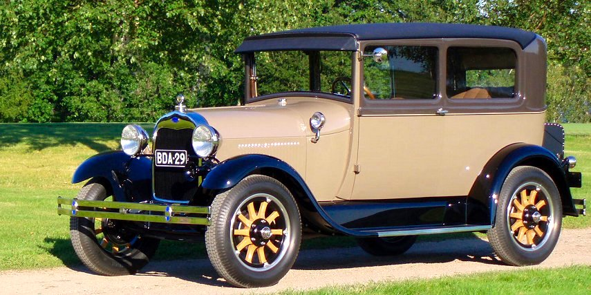 1929 Ford Model A With A Ford Cosworth Rally Engine