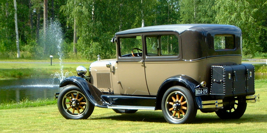1929 Ford Model A With A Ford Cosworth Rally Engine Engine Swap