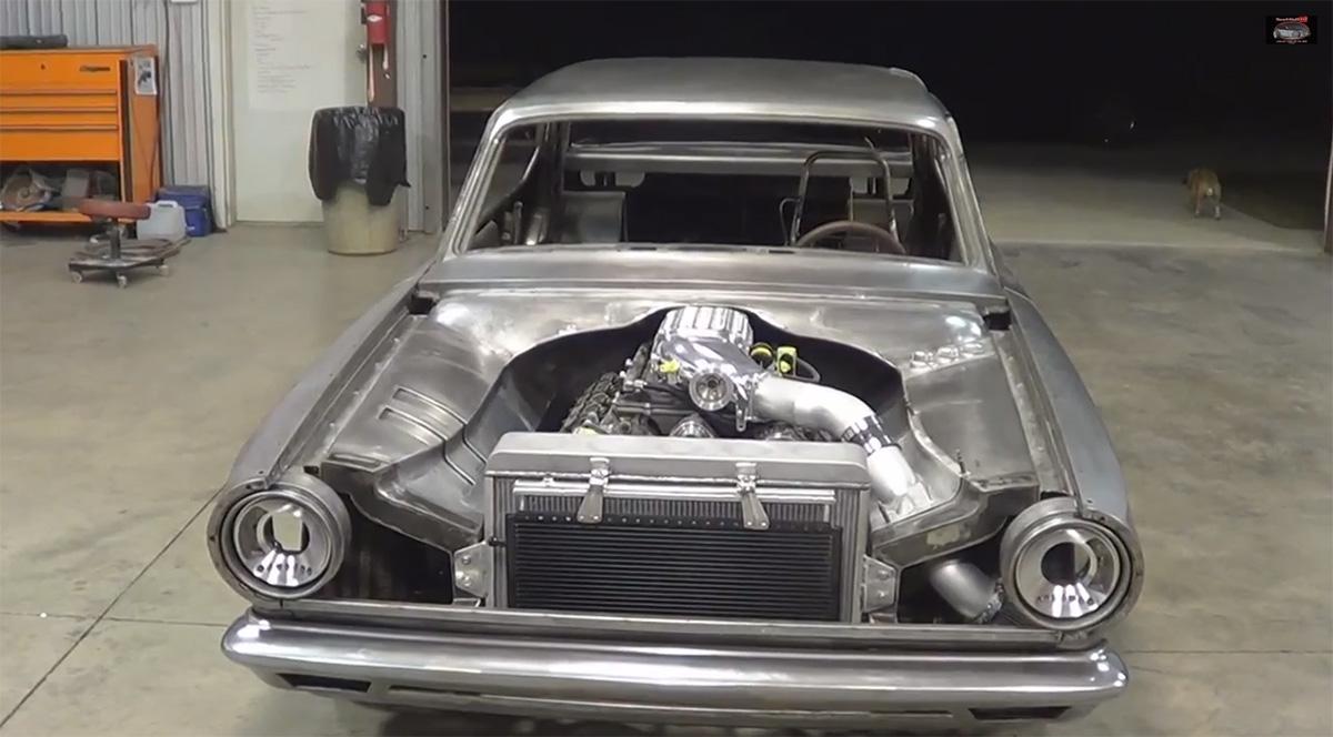 1965 Dodge Dart With A Supercharged Hemi Engine Swap Depot Wiring Diagram Modern