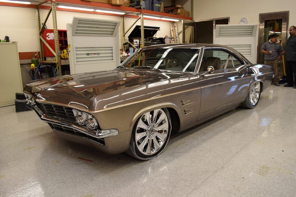1965 Impala On A Corvette Chassis Wins Fourth Ridler Award