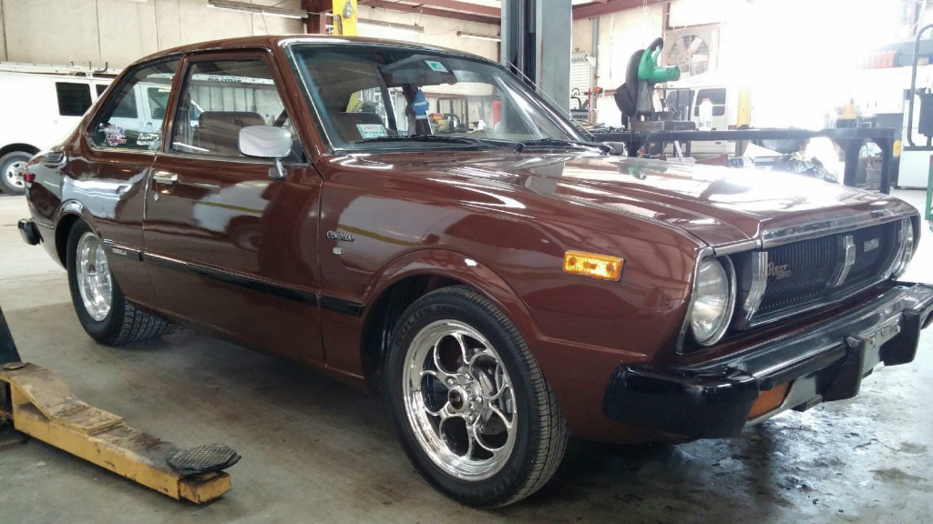 For Sale 1979 Toyota Corolla With A Turbo Mazda 13b Engine Swap Depot