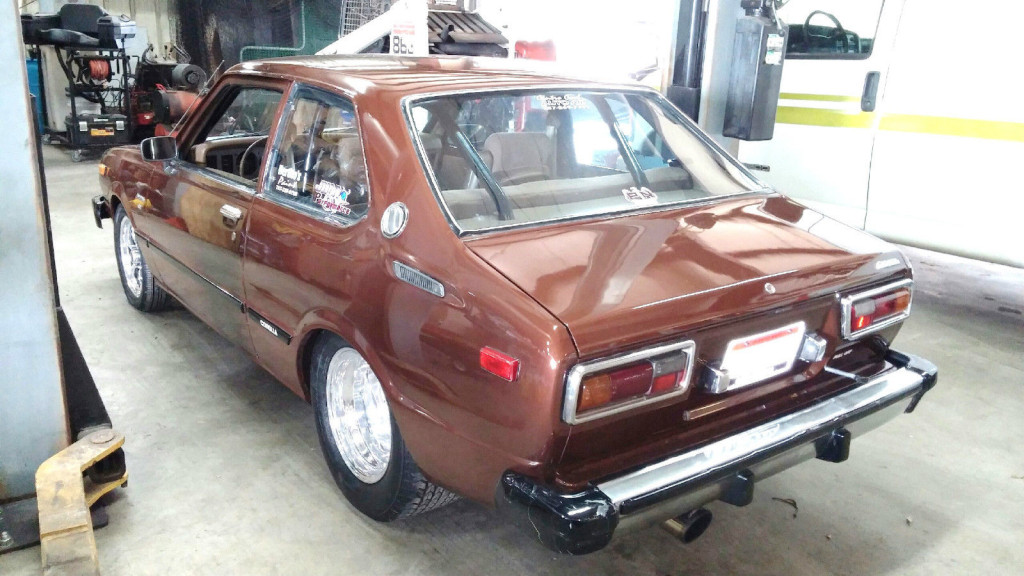 for sale 1979 toyota corolla with a turbo mazda 13b engine swap depot. Black Bedroom Furniture Sets. Home Design Ideas