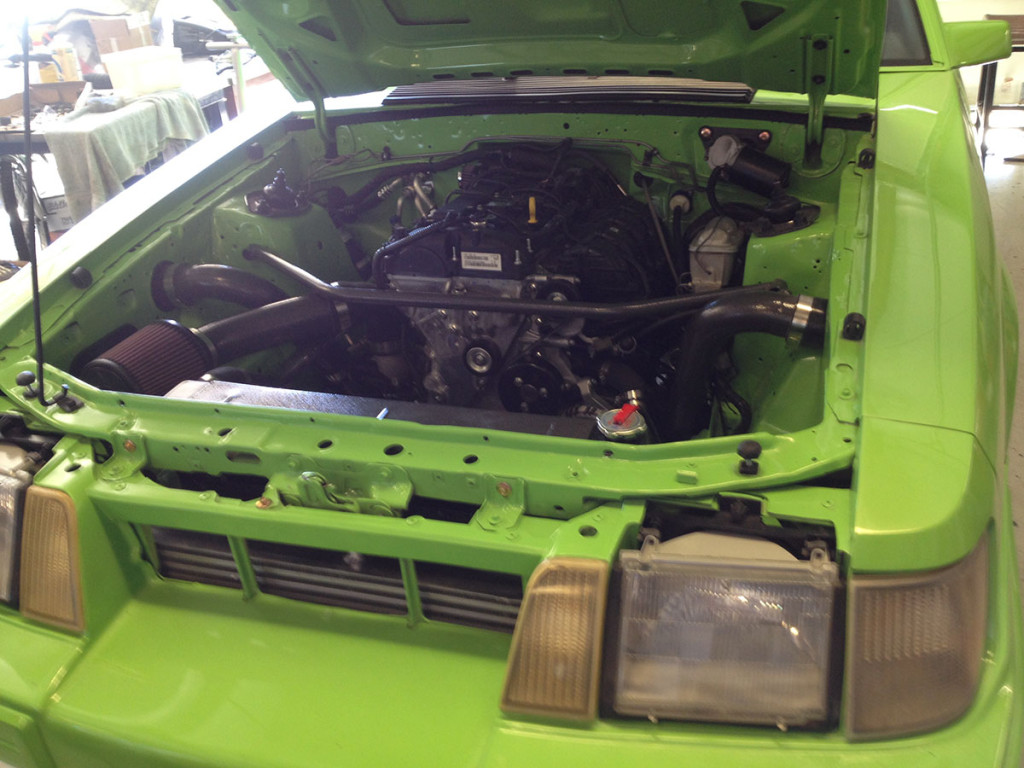1986 Mustang Svo With A Ecoboost Inline Four Engine Swap