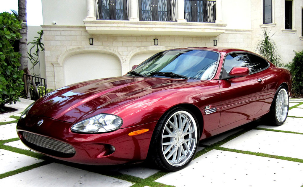 1997 Jaguar XK8 with a LS1