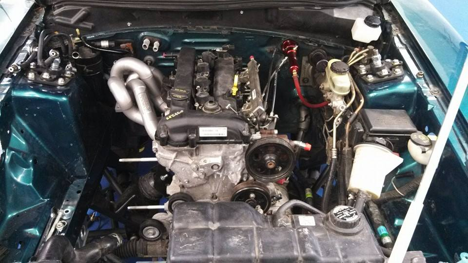 1997 mustang cobra with a turbo duratec inline four engine swap depot. Black Bedroom Furniture Sets. Home Design Ideas