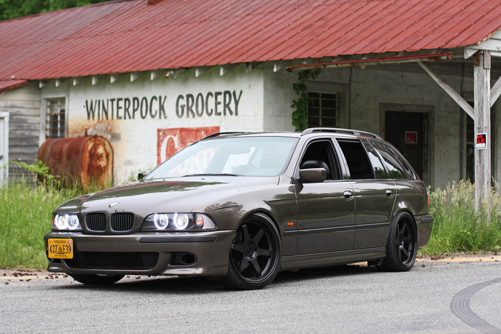 1999 BMW 528 Wagon With A LSX 427