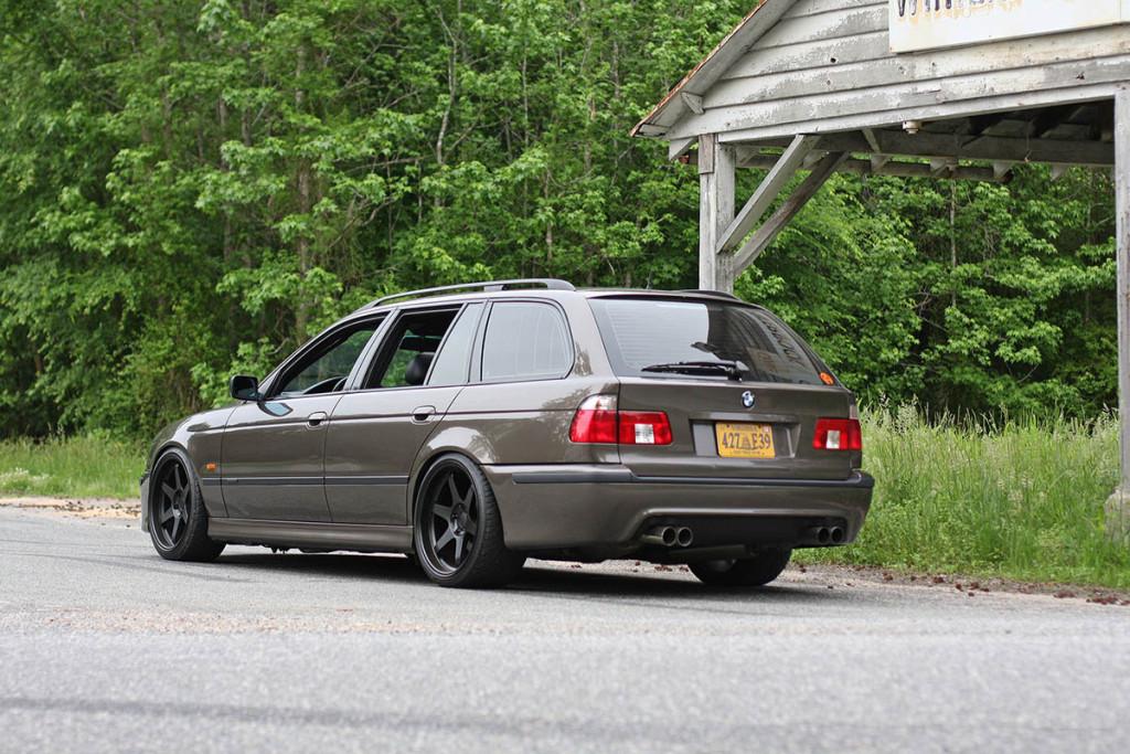 1999 BMW 528 Wagon With A LSX 427