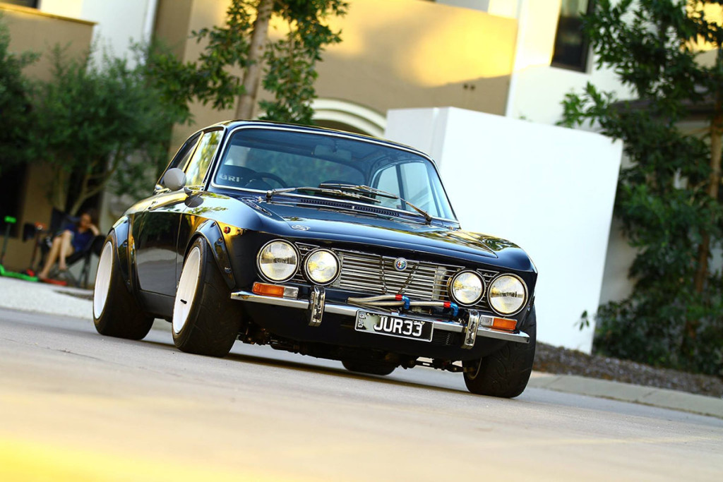 Alfa Romeo 105 with a turbocharged Nissan SR20