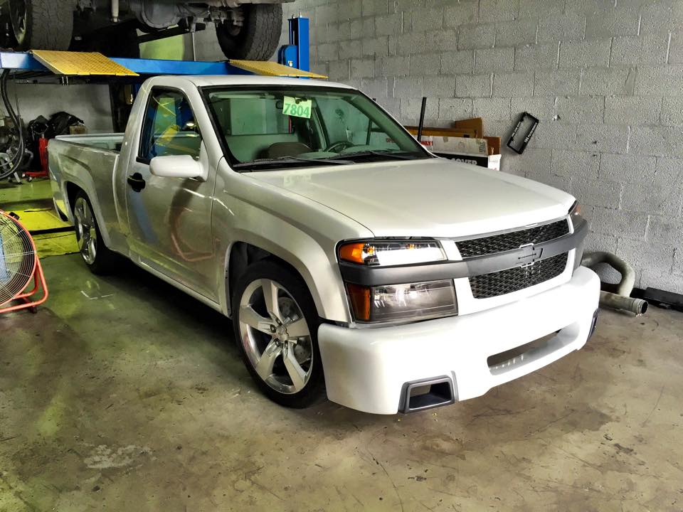 Chevy Colorado With A Turbo Duramax Diesel Engine Swap Depot