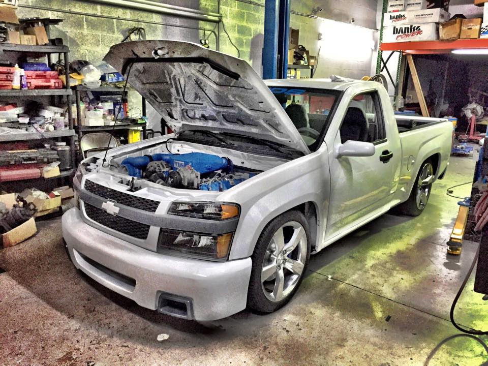 Chevy Colorado with a Turbo Duramax Diesel – Engine Swap Depot