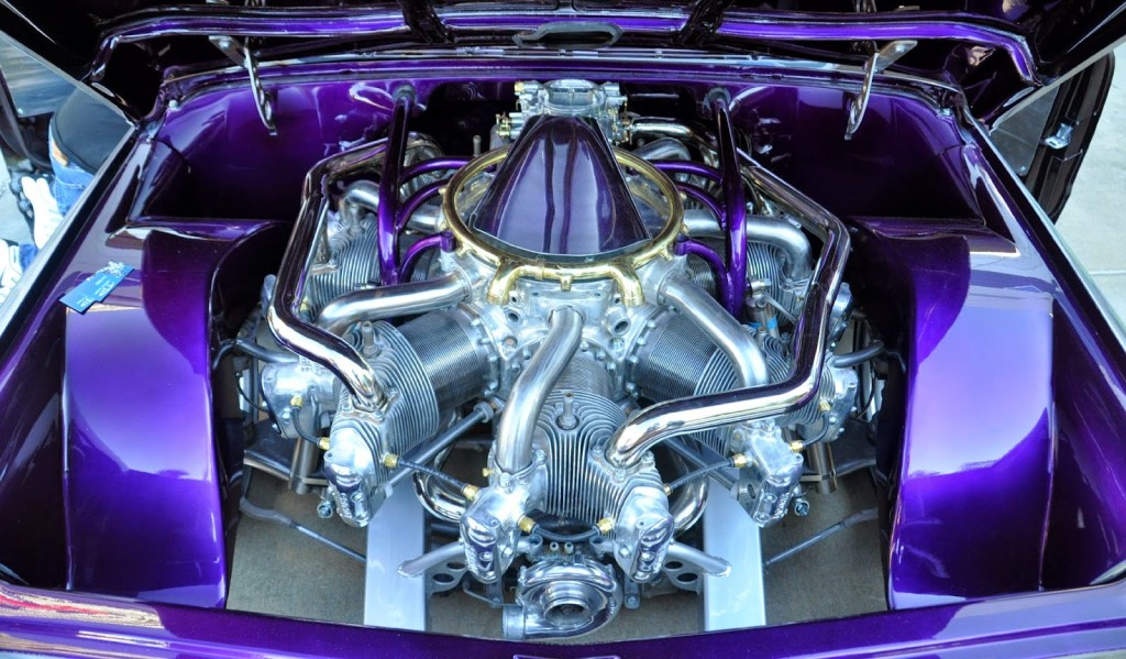 Chris Daley's 1967 Chevy C10 Powered by a Radial Aircraft Engine