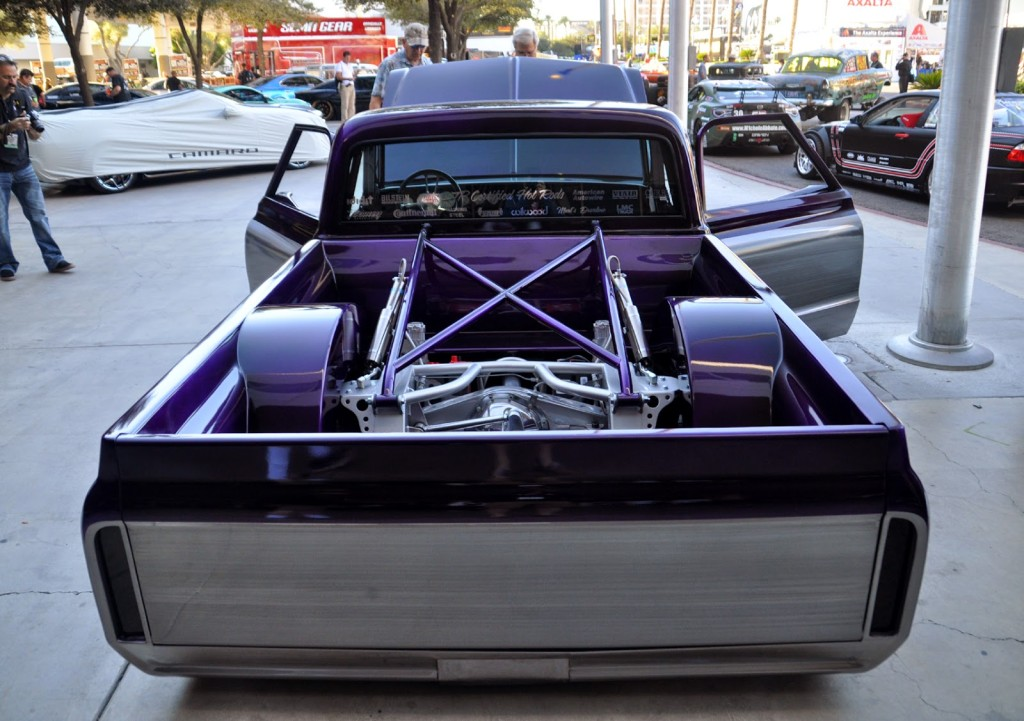 Chris Daley's 1967 Chevy C10 Powered by a Radial Aircraft