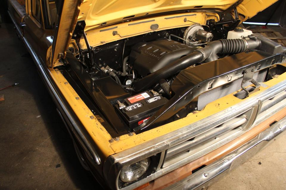 Colonel Mustard Ford F100 With A Ecoboost Twin