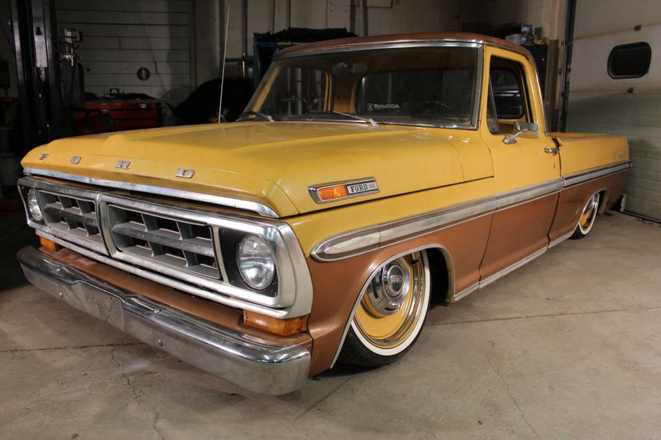 Colonel Mustard Ford F100 With A Ecoboost Twin Turbo V6