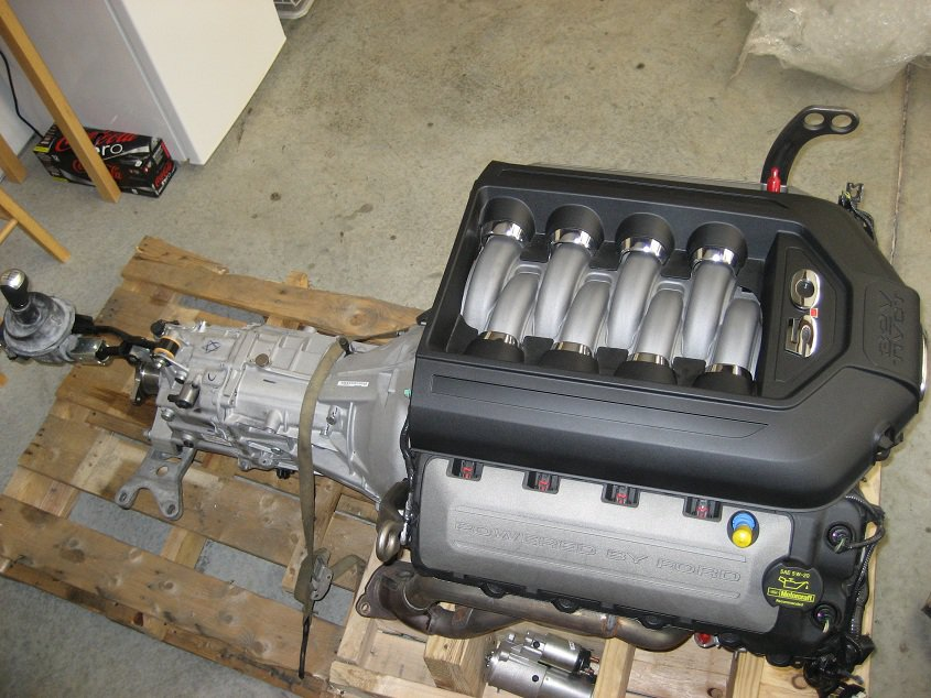 Coyote 5.0 V8 going into a Ford Explorer Sport Trac