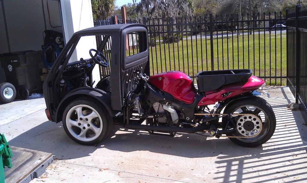 Hayabusa Powered Reverse Trike