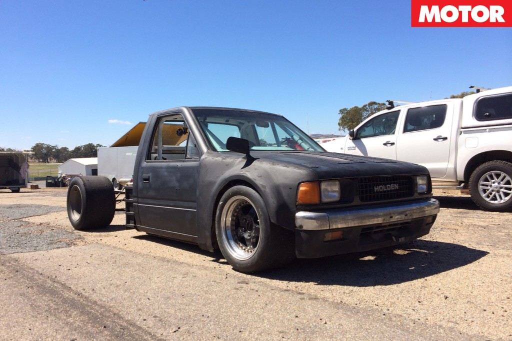 Holden Rodeo With A Mid Engine V8 Engine Swap Depot
