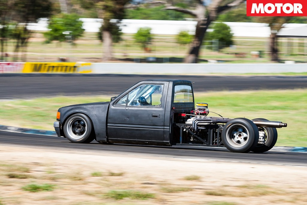 holden rodeo with a mid