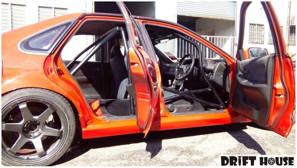 Nissan Cefiro With A VH56 V8