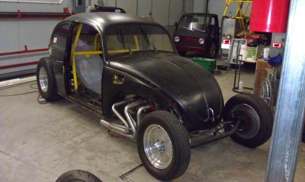 V8 VW Bug street rod ndash Engine Swap Depot