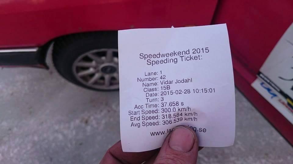 Vidar Jødahl's 1,000 HP 2JZ powered BMW E30 M3 sets ice record