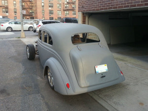 1936 Nash Lafayette with a 1JZ-GTE engine and Supra suspension