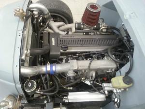 Toyota 1JZ-GTE inside a 1936 Nash Lafayette hot rod
