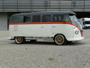 1962 VW Bus with TT Porsche 993