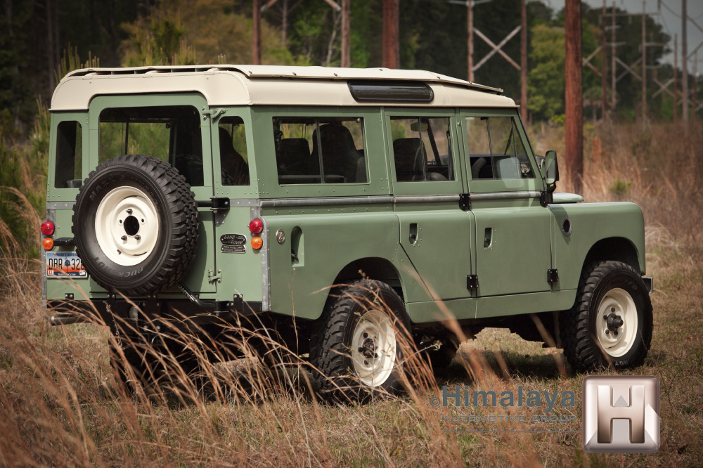 1967 Land Rover With A Modern Rover V8