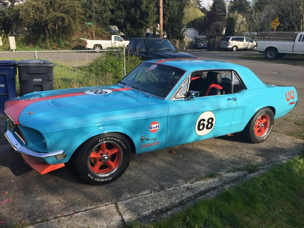 1968 Mustang with a 2JZ Inline-Six