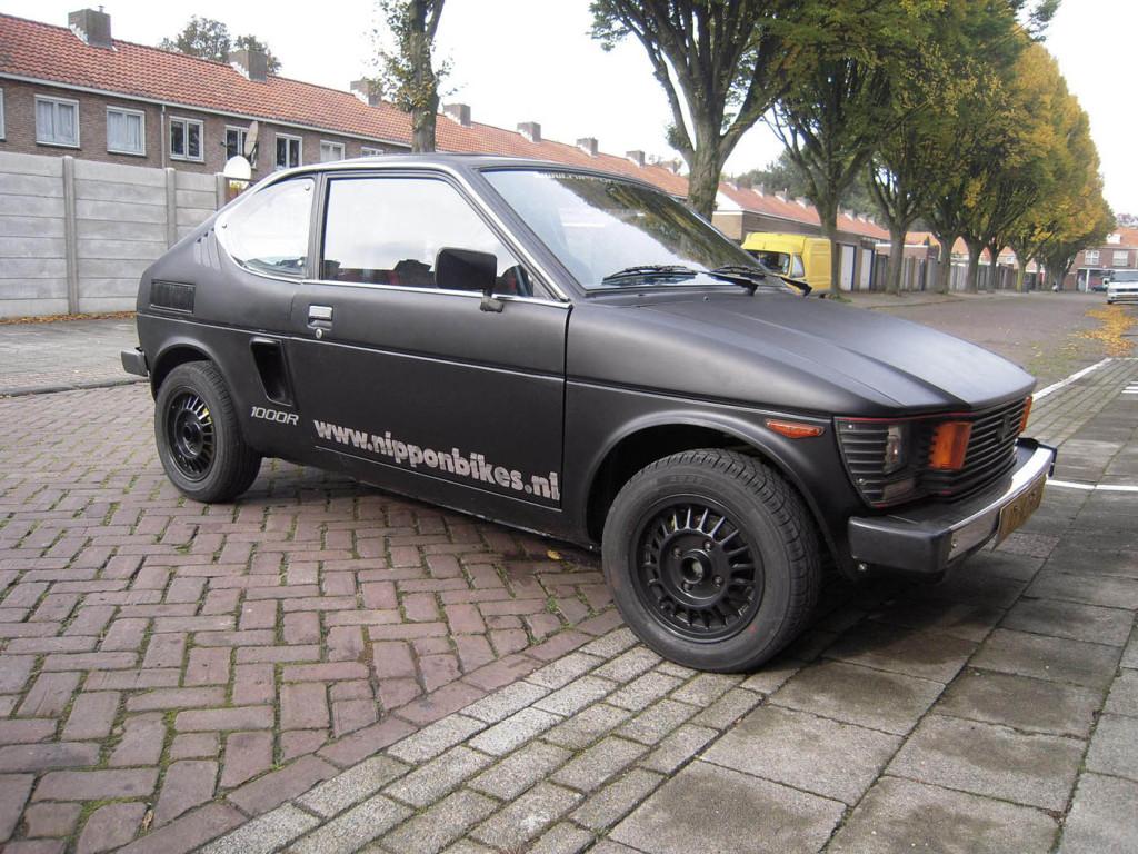 1982 Suzuki SC100 With A GSX-R Motorcycle Engine – Engine