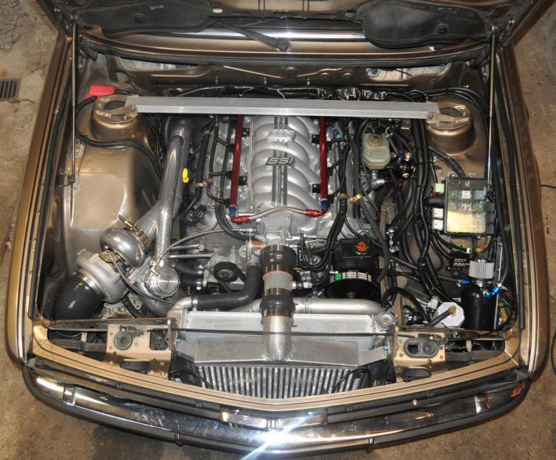 1985 535i with a Turbo L33 V8 – Engine Swap Depot