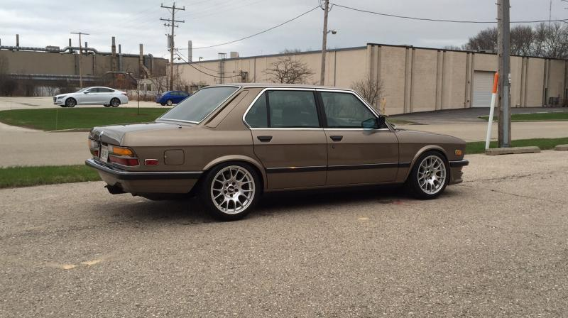 1985 535i With A Turbo L33 V8