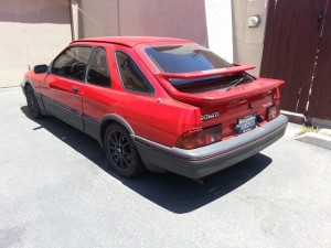 1985 Merkur XR4Ti With A Lexus 1UZ-FE V8
