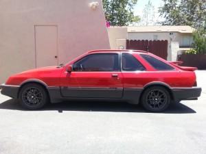 1985 Merkur XR4Ti With A Lexus 1UZ-FE V8