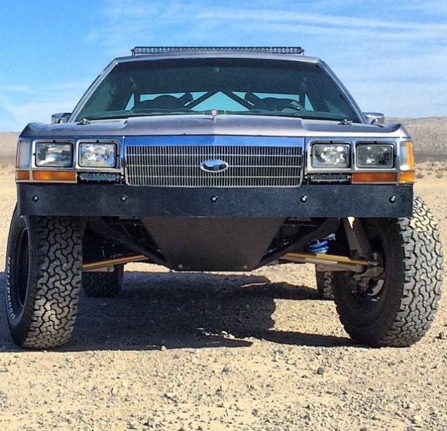 Off-road 1990 Crown Victoria With A LQ9