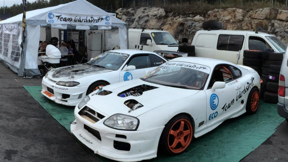 Team Gårdsdrift 1994 Supra With A Twin-turbo LM7 V8