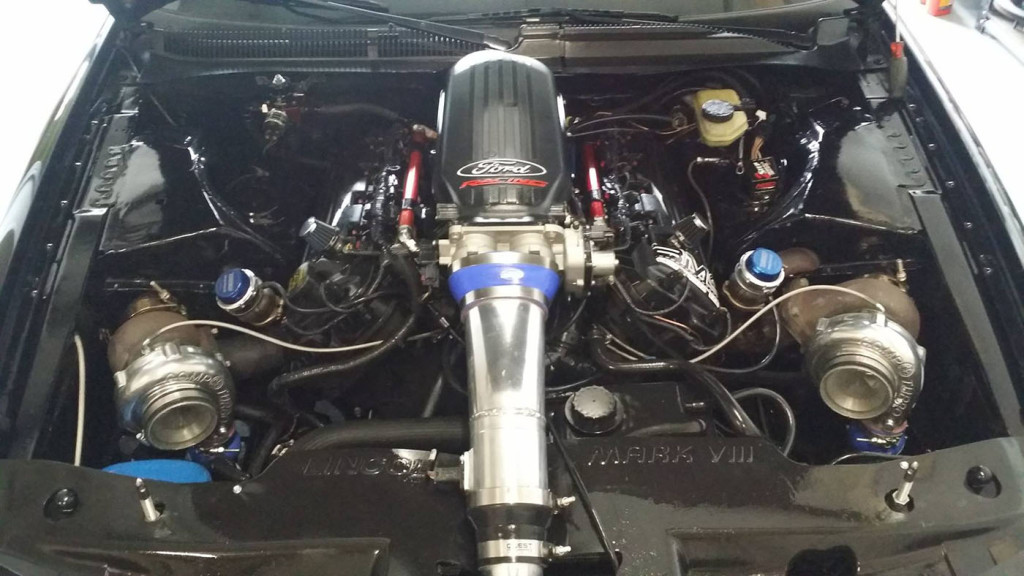 Lincoln Mark Viii With A Twin Turbo Coyote X on Lincoln Mark Viii Engine Swap