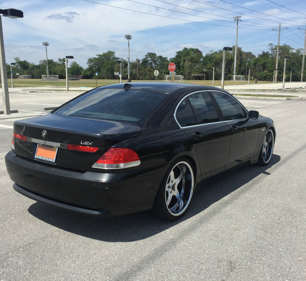 2002 BMW 745 with a turbocharged Chevy 4.8 L V8