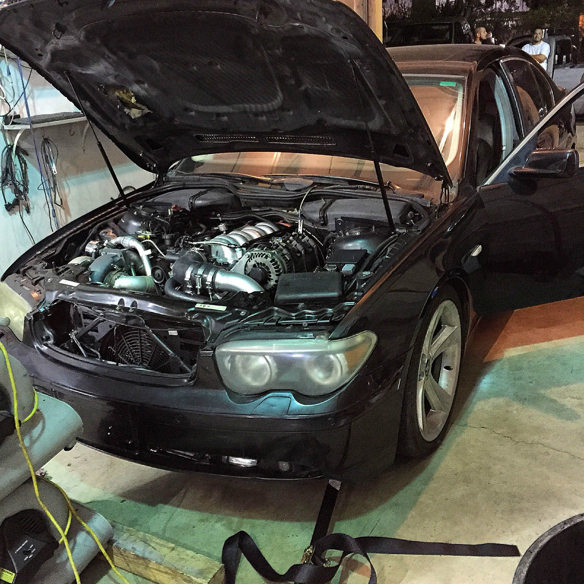 2002 BMW 745 With A Turbo Chevy V8 07