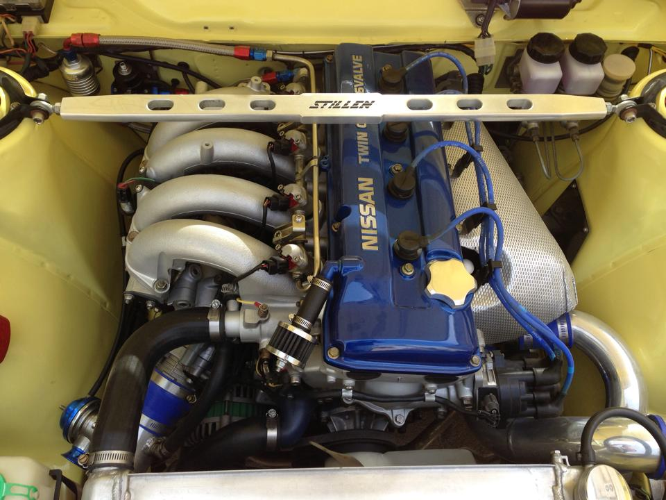 Datsun 510 With A Turbo KA24DE – Engine Swap Depot