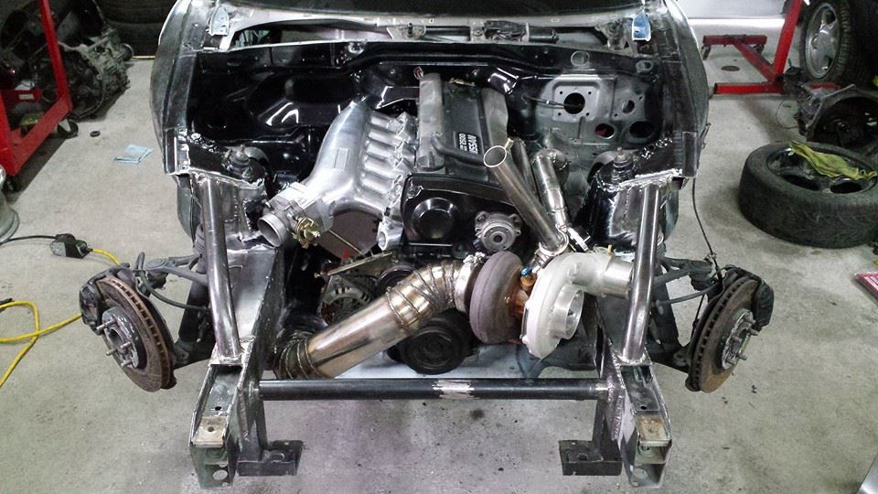 Building A Honda S2000 With A Nissan Rb25det  U2013 Engine Swap